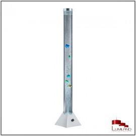 Lampadaire MOTION, Titane, LEDS Intégrées RGB