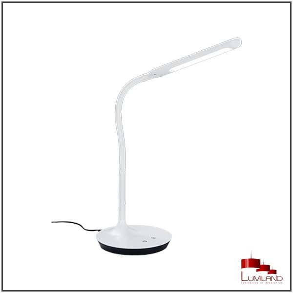 Lampe Tactile POLO, Blanche, LEDS intégrées