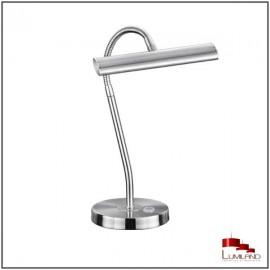 Lampe CURTIS, Nickel Mat, LEDS intégrées