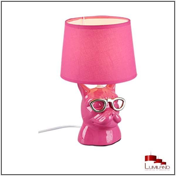 Lampe DOSY, Rose, 1 lumière