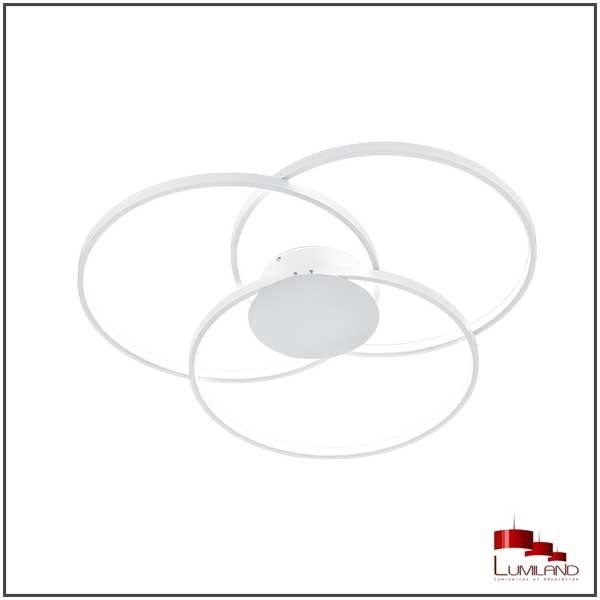 Plafonnier SEDONA, Blanc Mat, LEDS Intégrées