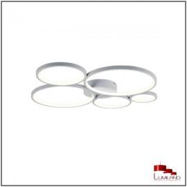 Plafonnier RONDO, Blanc, LEDS Intégrées.