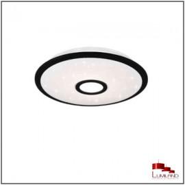 Plafonnier OKINAWA, Noir, LEDS Intrégrées, D21