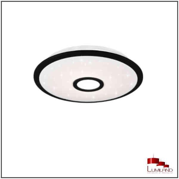 Plafonnier OKINAWA, Noir, LEDS Intrégrées, D42