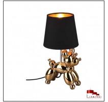Lampe à poser BELLO, Noir et Or, 1 lumière.