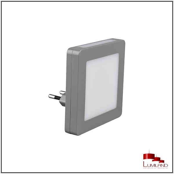 Applique veilleuse HANK, Grise, LEDS intégrées