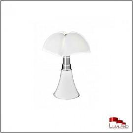 Lampe PIPISTRELLO, Blanche, LEDS Intégrées, Mini Modèle