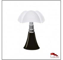 Lampe PIPISTRELLO, Noire, LEDS Intégrées, Moyen Modèle
