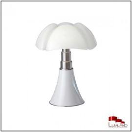 Lampe PIPISTRELLO, Blanche, LEDS Intégrées, Moyen Modèle