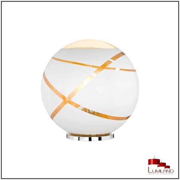 Lampe de table blanche arrondie FARO