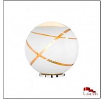 Lampe FARO, Blanc et Or, 1 lumière, D50