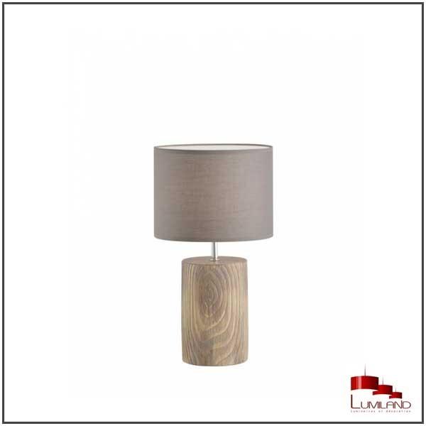 Lampe  MALIK, Bois, 1 lumière