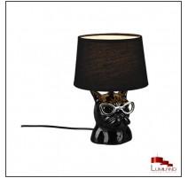 Lampe DOSY, Noire, 1 lumière