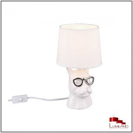 Lampe DOSY, Blanche, 1 lumière