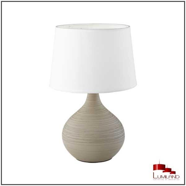 Lampe MARTIN, Beige, 1 lumière