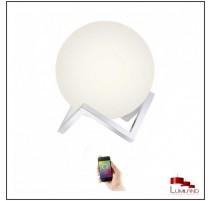 Lampe connectée MANUEL, Blanche, LEDS Intégrées RGB