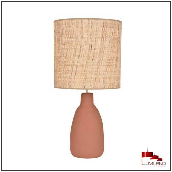Lampe PORTINATX, Terracotta, 1 lumière, L