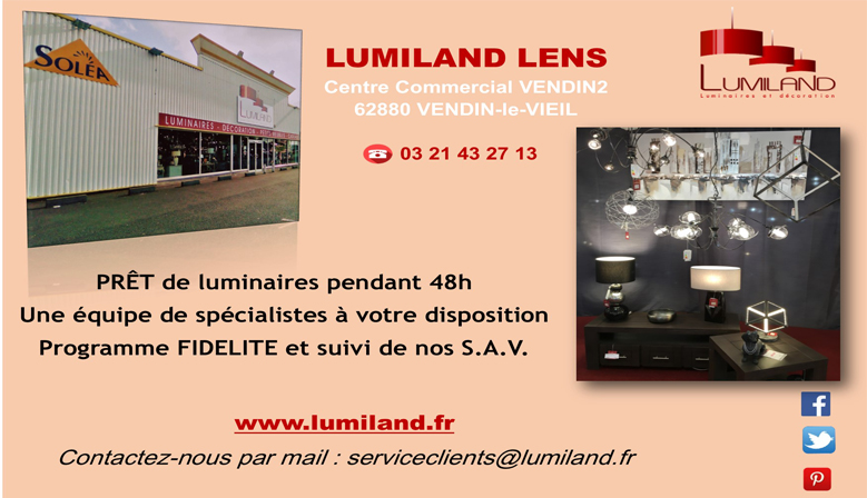lumiland boutique en ligne et 5 magasins de luminaires. Black Bedroom Furniture Sets. Home Design Ideas